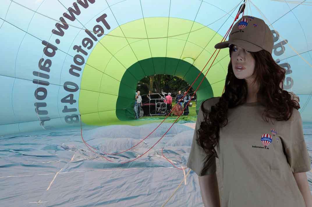 Sabrina in der A.O.Ballonreisen-Hülle / Abbildung 3