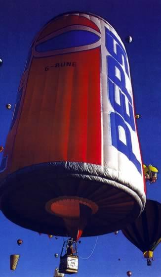 Ballonsonderformen - Pepsi-Cola