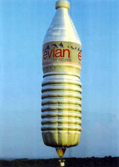Ballonsonderformen - Wasserflasche