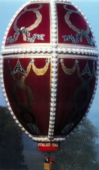 Ballonsonderformen - Fabergé Ei