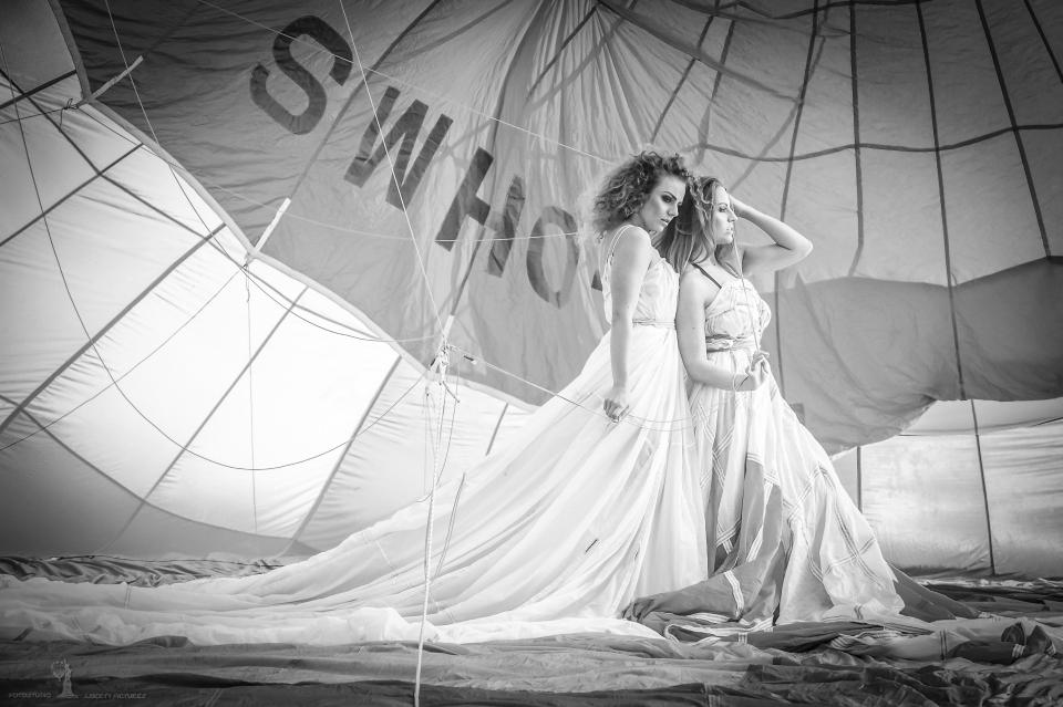 im Heißluftballon - heute einmal anders