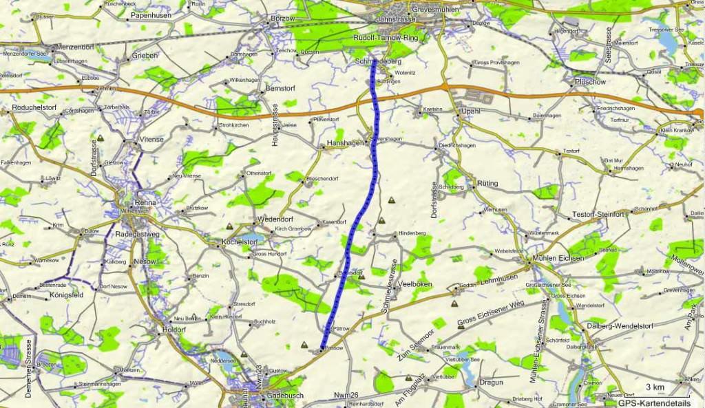 Fahrtroute-Ballonfahren-von-Wotenitz-nach-Passow