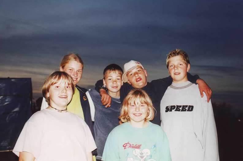 Ballonfahrt in Norddeutschland mit jüngeren Fahrgästen