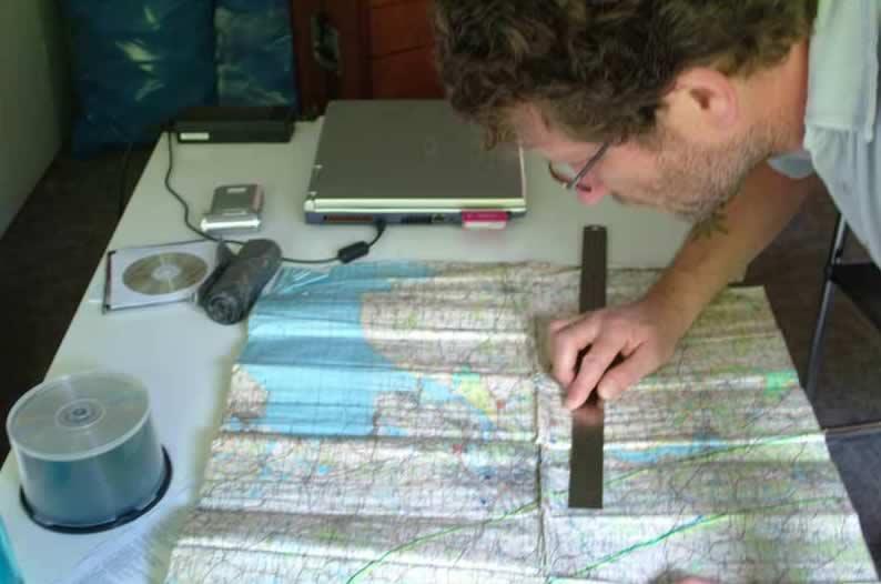 Fahrtvorbereitung/Wettercheck und Windrichtungsberechnung