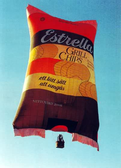 Ballonsonderformen - Chipstüte