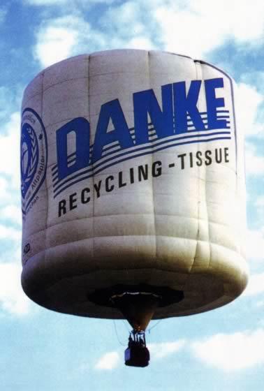 Ballonsonderformen - Toilettenpapier