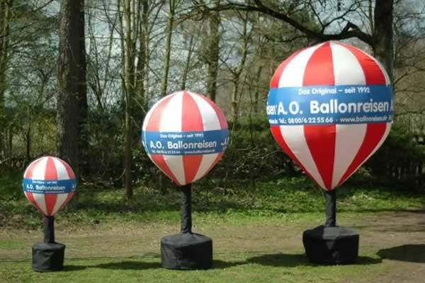 Kaltluftballone - auch Kaltlüfter genannt