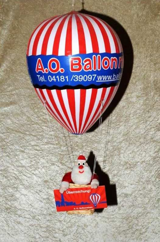 Modellballon mit Körbchen