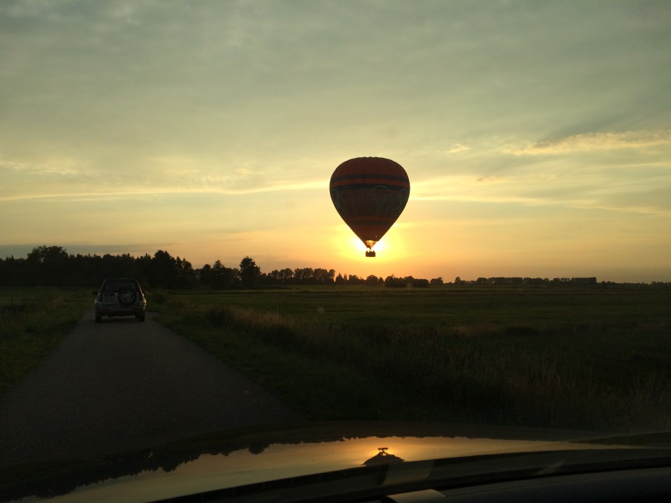 Ballonfahrt Rendsburg