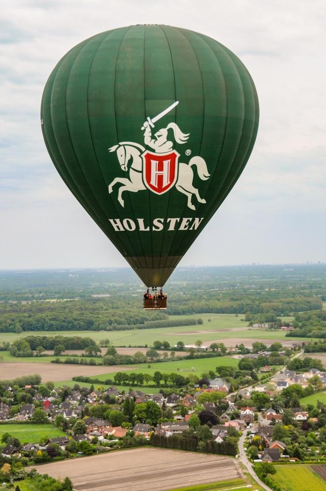 Ballonfahrt Norddeutschland Foto Gewinnspiel 2016