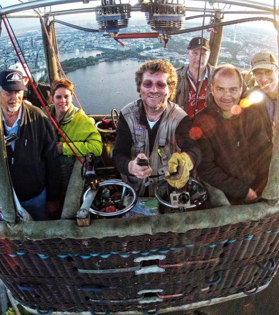 Ballonfahrt Norddeutschland mit Pilot Axel Ockelmann