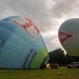 2 Hansano-Ballons beim Start