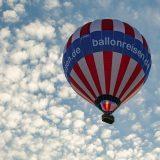unser Heißluftballon mit Wölkchen