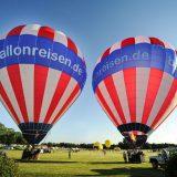 Ballonfahrt Kieler Woche 2019 – unsere Ballons am Start