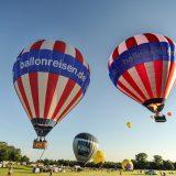 unsere Ballons im Doppelpack während der Kieler Woche