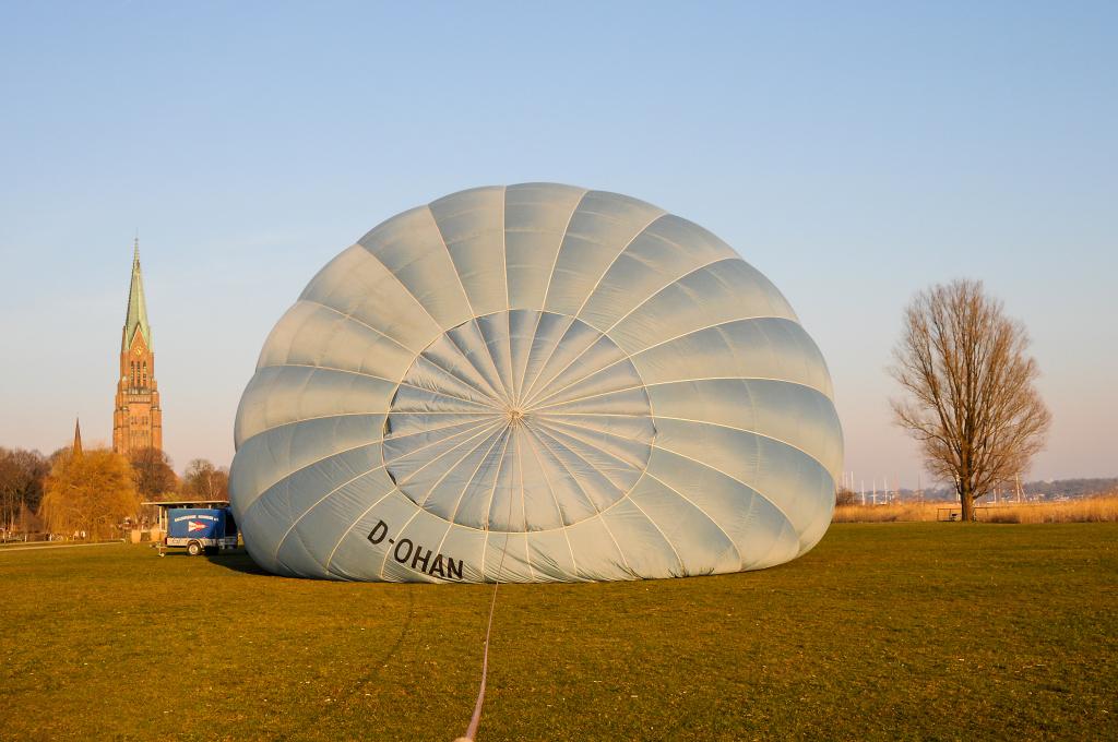 Gewiinspiel - Ballonfahrt Norddeutschland