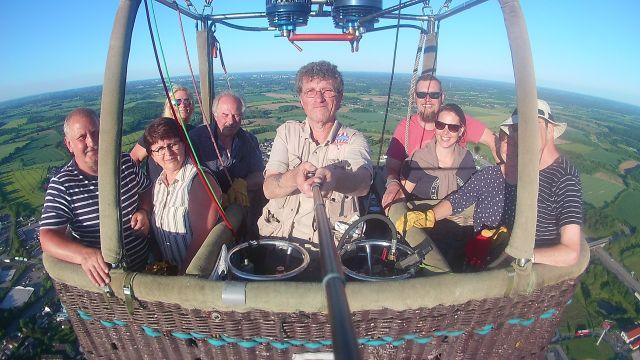 Ballonfahrt über Reinfeld